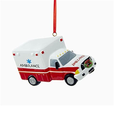 departments ambulance ornament