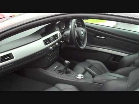 bmw   coupe manual  speed interior youtube
