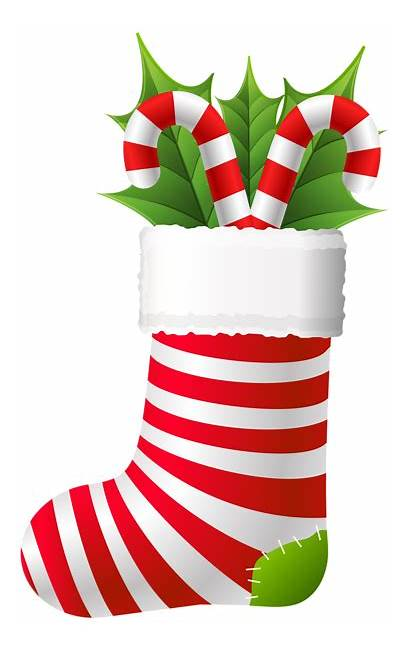 Stocking Christmas Clip Candy Cane Canes Stockings