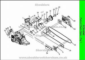 Stihl Chainsaw Parts Diagram 025