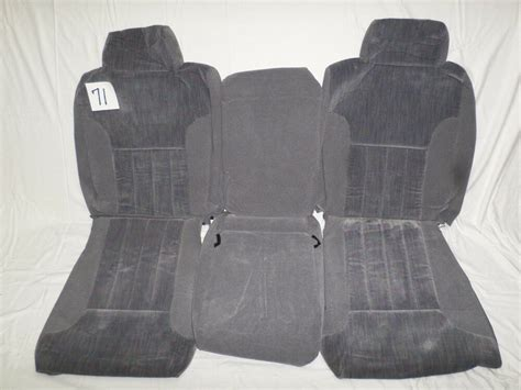 1997 Dodge Oem Seat Cover, Take Off
