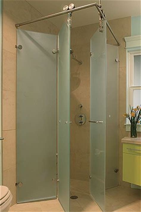 Foldaway Shower Stall Wideopen Baths For Small Spaces