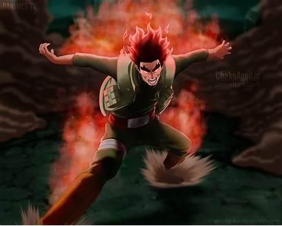 Naruto Gai Manga Guy Might Shippuden Deviantart