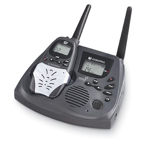 Audiovox™ GMRS 3000 Base Station with Handheld GMRS Radio ...