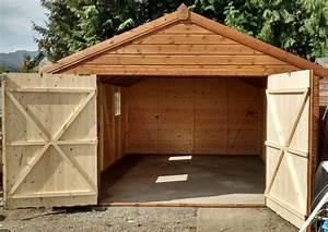 photos de garages en bois construire garagecom With garage en bois en kit