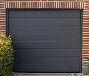 Document sans nom for Porte de garage sectionnelle anthracite