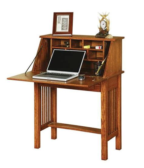 arts and crafts desk amish office furniture american arts and crafts secretary desk