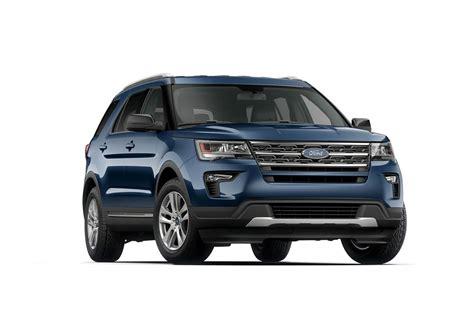 2018 Ford® Explorer Xlt Suv  Model Highlights Fordcom