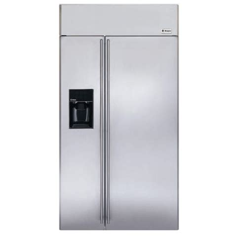 ge monogram  built  side  side refrigerator zissdrss ge appliances