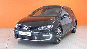 Golf Gte Occasion : volkswagen golf occasion 1 4 tsi 204 hybride rechargeable dsg6 gte noir intense metal youtube ~ Medecine-chirurgie-esthetiques.com Avis de Voitures