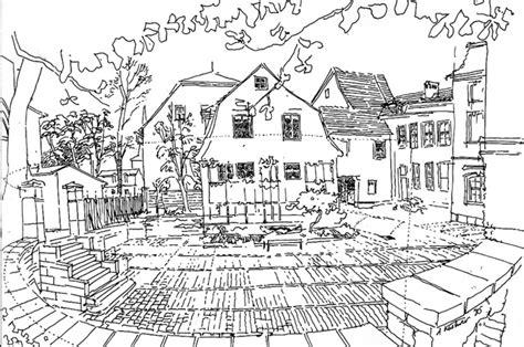 Moderne Häuser Zum Ausmalen by Blick In Den Hof Des Wittumspalais