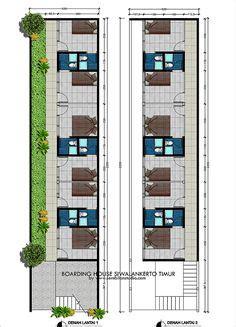 layout denah rumah  tempat usahan kos kosan