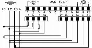Kilowatt Hour Meter Wiring Diagram  U2013 Volovets Info