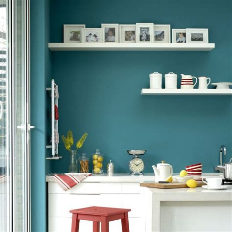 peinture cuisine bleu cuisine peinture couleur avec option bonne humeur côté