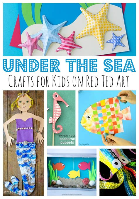the sea paper plate crafts for ted s 163 | Under the sea crafts for summer