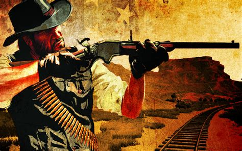 red dead redemption wallpaper hd
