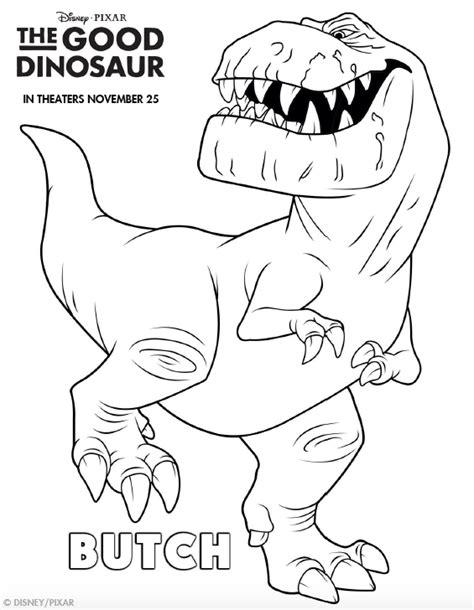 Kleurplaat Dinosaurussen by The Dinosaur Kleurplaten Butch Dinosaurussen Voor