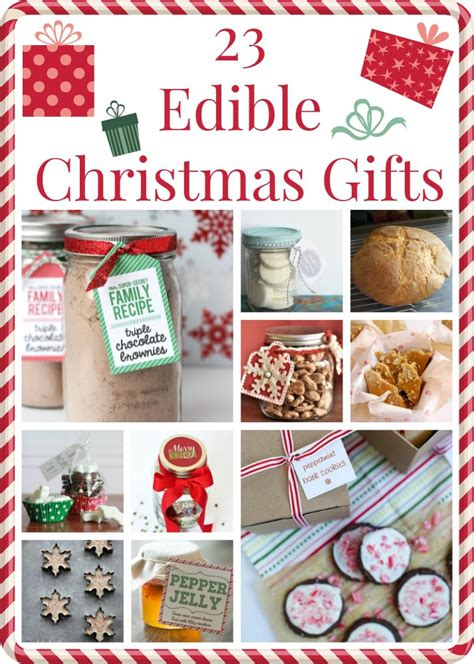 28 best edible christmas gifts 25 edible christmas