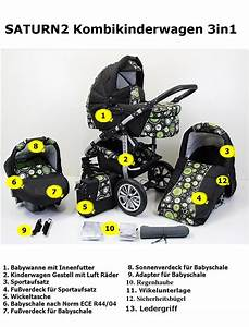 Günstige Kombikinderwagen Mit Babyschale : saturn2 kombikinderwagen kinderwagen 3in1 mit babyschale poussette pram autositz ebay ~ Watch28wear.com Haus und Dekorationen