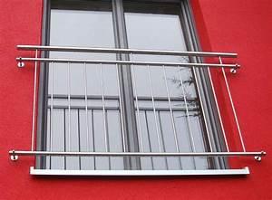 Franzosischer balkon gt170 180 cm for Französischer balkon mit sonnenschirm 400 cm