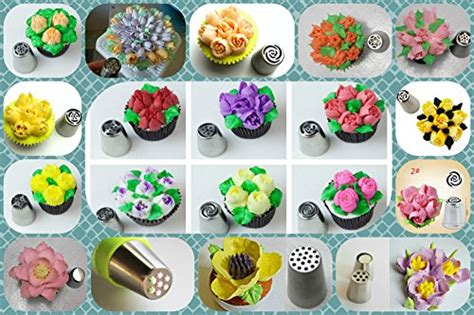 Best Kitchen Supplies by Russian Piping Tips 49 Pcs Icing Tips My Kitchen Store