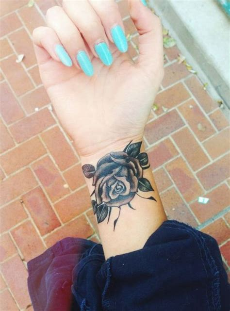 rose wrist tattoos designs ideas  meaning tattoos