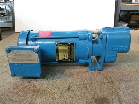Burks Pump New 1/2 Hp Centrifugal 3 Phase 310pe00 Cat