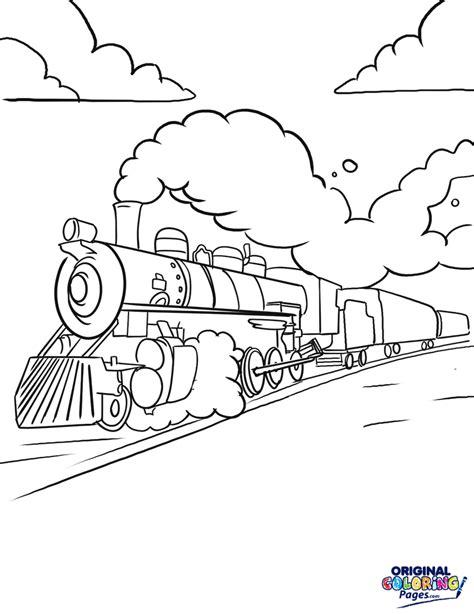 trains coloring pages original coloring pages