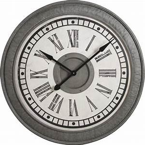 Horloge En Metal : horloge en m tal dhl1280 aubry gaspard ~ Teatrodelosmanantiales.com Idées de Décoration