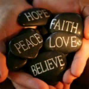 Faith Hope Love Joy Peace