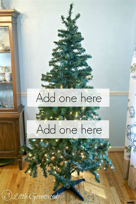 how to fix artificial christmas tree branches update a tree for less than 10 by 3 greenwoods