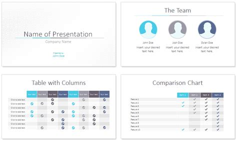 minimal powerpoint template presentationdeckcom