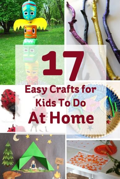17 Easy Crafts For Kids To Do At Home  Hobbycraft Blog