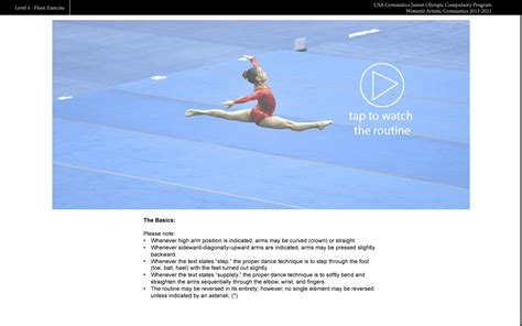 Usag Level 2 Floor Routine 2017 by 100 Usag Level 2 Floor Routine 2017 Ingredients For