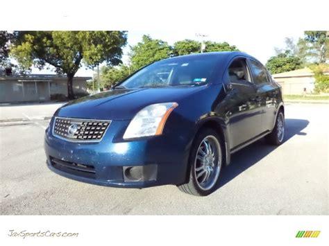 blue 2007 nissan sentra 2007 nissan sentra 2 0 in blue onyx metallic 651472 jax sports cars cars for sale in florida