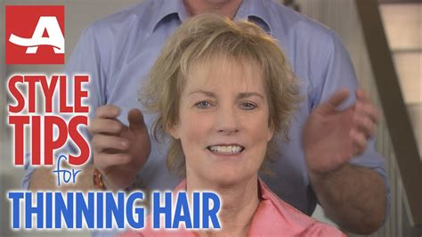 style tips  thinning hair    youtube