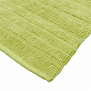Badteppich Set Grün : badezimmerteppich aus baumwolle einfarbig in gr n alle teppiche ~ Markanthonyermac.com Haus und Dekorationen