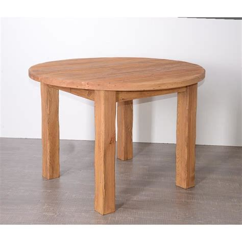 table cuisine pin massif table ronde en pin massif 39 savoyard 39 achat vente table