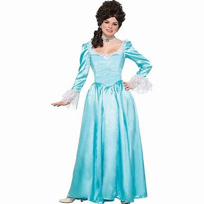 Colonial Costume Woman Adult Party Partycity Icon