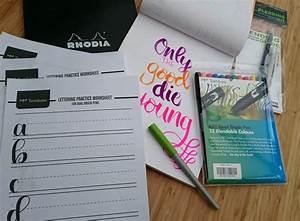brush lettering kit the reading residence With lettering brush kit