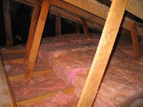r38 attic insulation how to safely handle fiberglass insulation attic guys 1708