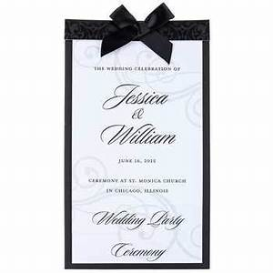 invitation kits hobby lobby images invitation sample and With hobby lobby wedding program templates