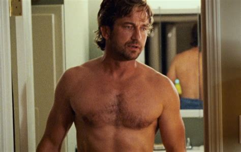 How Shirtless Gerard Butler Stacks Up Against Real Life
