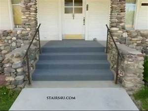 Can You Carpet Exterior Concrete Stairs? - Indoor Outdoor
