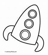 Coloring Rocket Printable 4kids источник sketch template