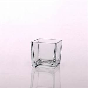 square glass pillar candle holders geometric hurricane With kitchen cabinets lowes with square glass candle holders wholesale