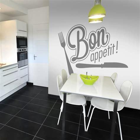 stickers cuisine design stickers cuisine bon appetit fourchette livraison sous 72