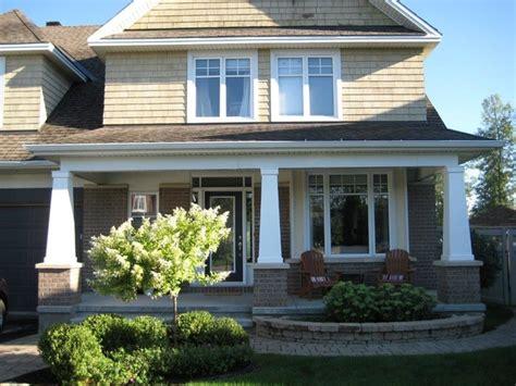 exterior columns craftsman exterior ottawa by