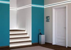 Led Stripes Ideen : kit profil s 2m led aluminium encastrable en angles pour bandeau led ~ Sanjose-hotels-ca.com Haus und Dekorationen