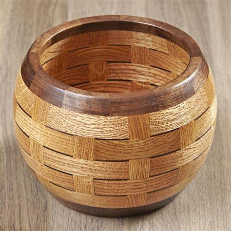 turn  woven bowl plan  wood magazine